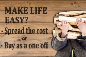 spread the cost of firewood