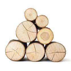 Kiln dried logs free delivery