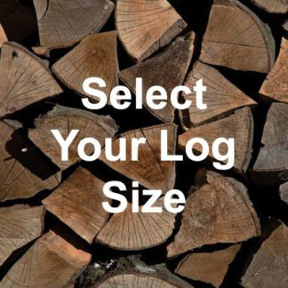 large or small kiln dried logs