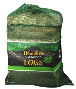 B&Q homefire hardwood logs