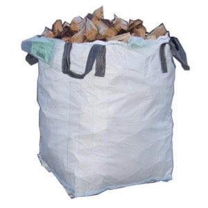 ton bag of logs