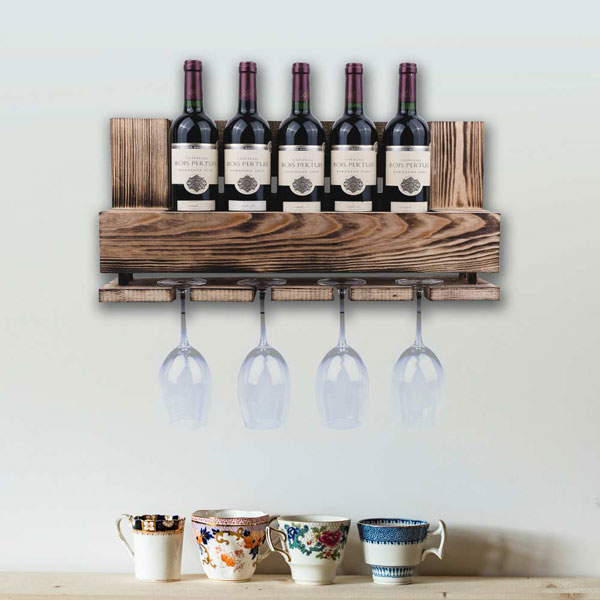 Wine-rack-made-from-a-pallet